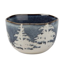 Blue Forest Snack Bowl