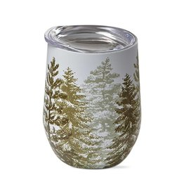Evergreen Stemless Wine Glass