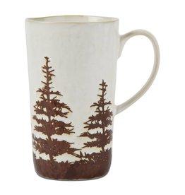 Tan Tall Pine Mug