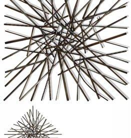 Pick Up Sticks/Metal Wall