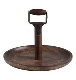 Shovel Handle Round Platter