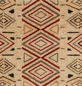 "Kalliope Collection, Sand/Rust 5'-0"" X 7'-6"""