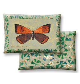 American Copper Butterfly Pillow 18x26