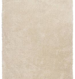 Luxe Collection / Ecru Ivory 5' x 7'