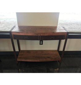 Yosemite Home Decor Mango Wood Accent Table
