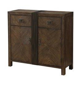 Coast To Coast Imports Wood Cupboard/ 2 Drawer