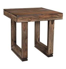 Coast To Coast Imports U-shaped Wood End Table