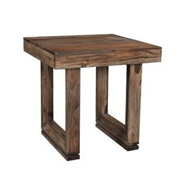 Coast To Coast Imports U-shaped Wood End Table