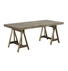 Coast To Coast Imports Adjustable Dining Desk