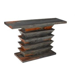 Coast To Coast Imports Vivid Wood Console Table