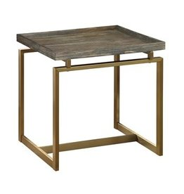 Coast To Coast Imports Raised End Table