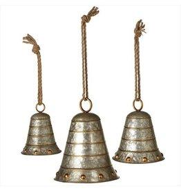 Galvanized Bells--S/3