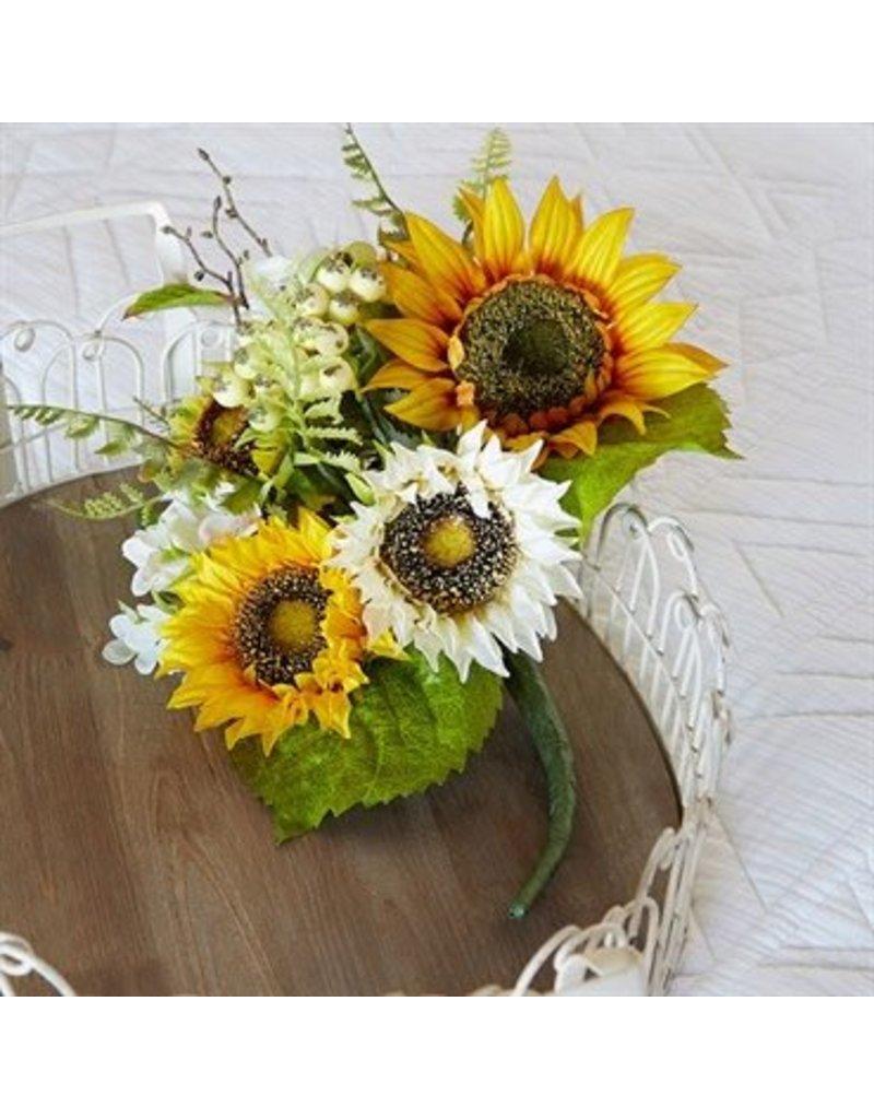 """Raz Imports 14"""" Sunflower Bundle"""