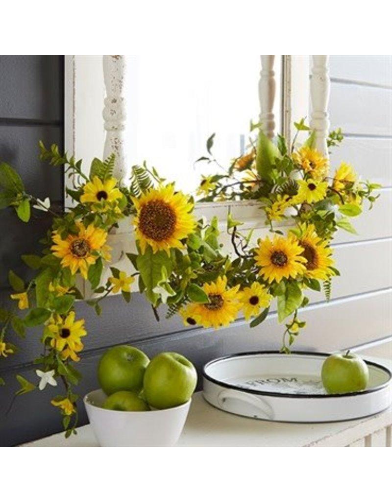 Raz Imports 4' Sunflower Garland