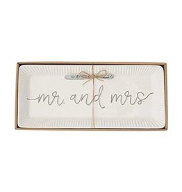 Mr. & Mrs. Hostess Tray Set