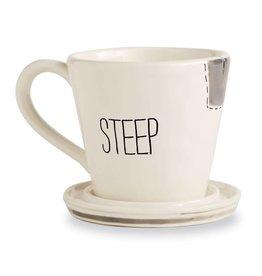 """""""STEEP"""" Tea Mug Set"""