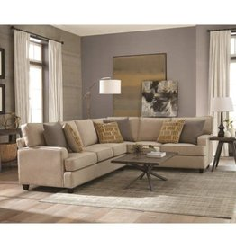 Coaster Emmett Two-Piece Sectional with Track Arms
