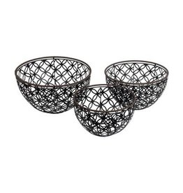 Privilege Iron Weave Basket--Small Only