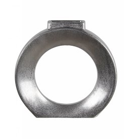 Privilege Metallic Circle Vase--Small