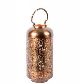Privilege Large Iron Lantern Bronze/Copper