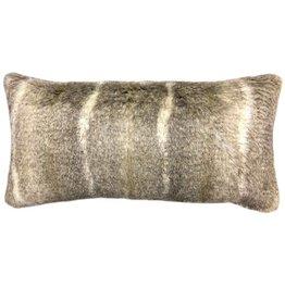 Harp & Finial Aztec Bolster Pillow