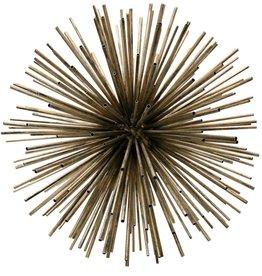 Harp & Finial Orbit Metal Sculpture