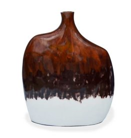 "Red Label Home Copper White Mango Jars 27""H"
