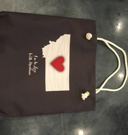"Demdaco ""I'm In Love With Montana"" Heart Tote"