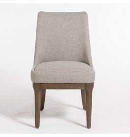 Dawson Dining Chair--Twill Granite/Beechwood