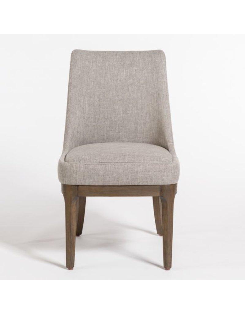 Dawson Dining Chair Twill Granite Beechwood
