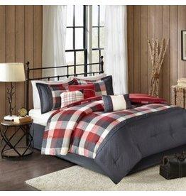 Ridge Herringbone Comforter Set