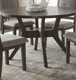 Nisky Acacia Round Dining Table