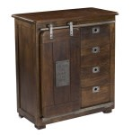 Coast To Coast Imports Jupiter Mango and Iron Cabinet
