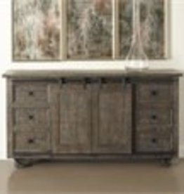 Coast To Coast Imports Smokey Grey Sideboard
