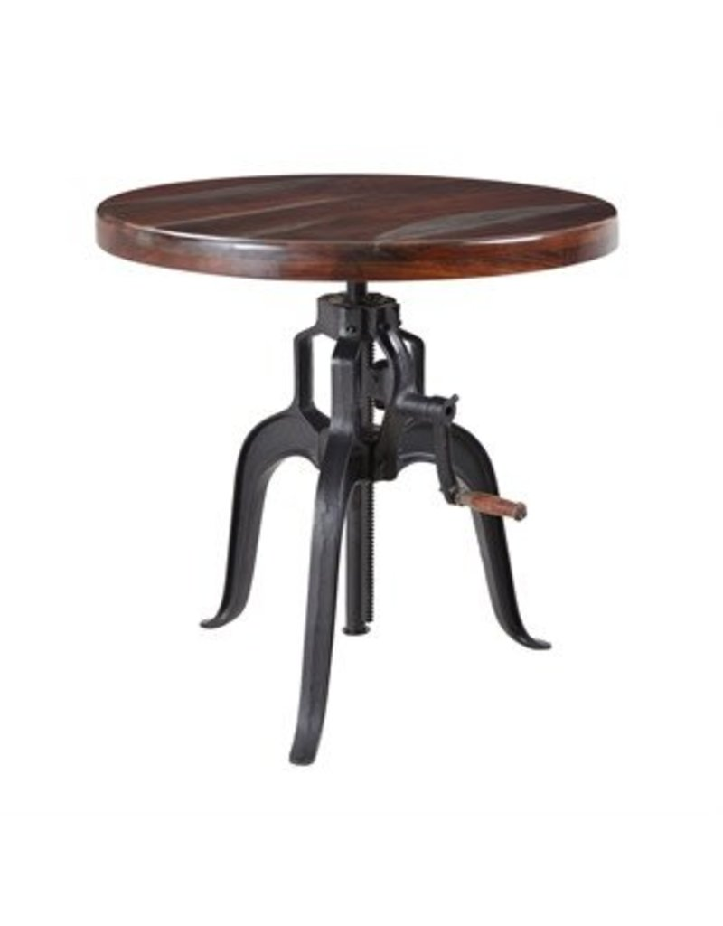 Coast To Coast Imports >> Coast To Coast Imports Kara Gray Adjustable Accent Table