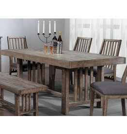 Homelegance Codie Burnished Brown Dining Table