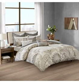 Mira 3 Piece 100% Cotton Comforter Set King