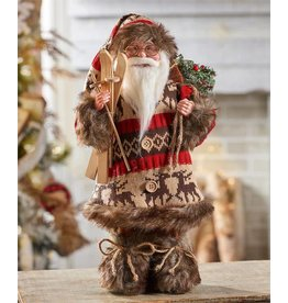 Standing Santa Design Decor