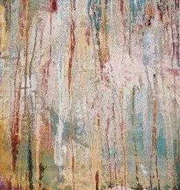 Arte Ivory/Teal Lucia 5' x 7'