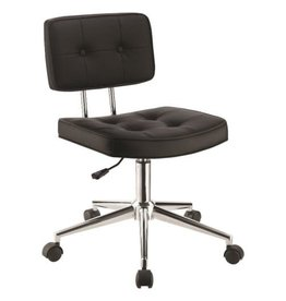 Coaster Armless Modern Office Chair