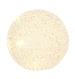 "Raz Imports 6.5"" Lighted Beaded Ball"