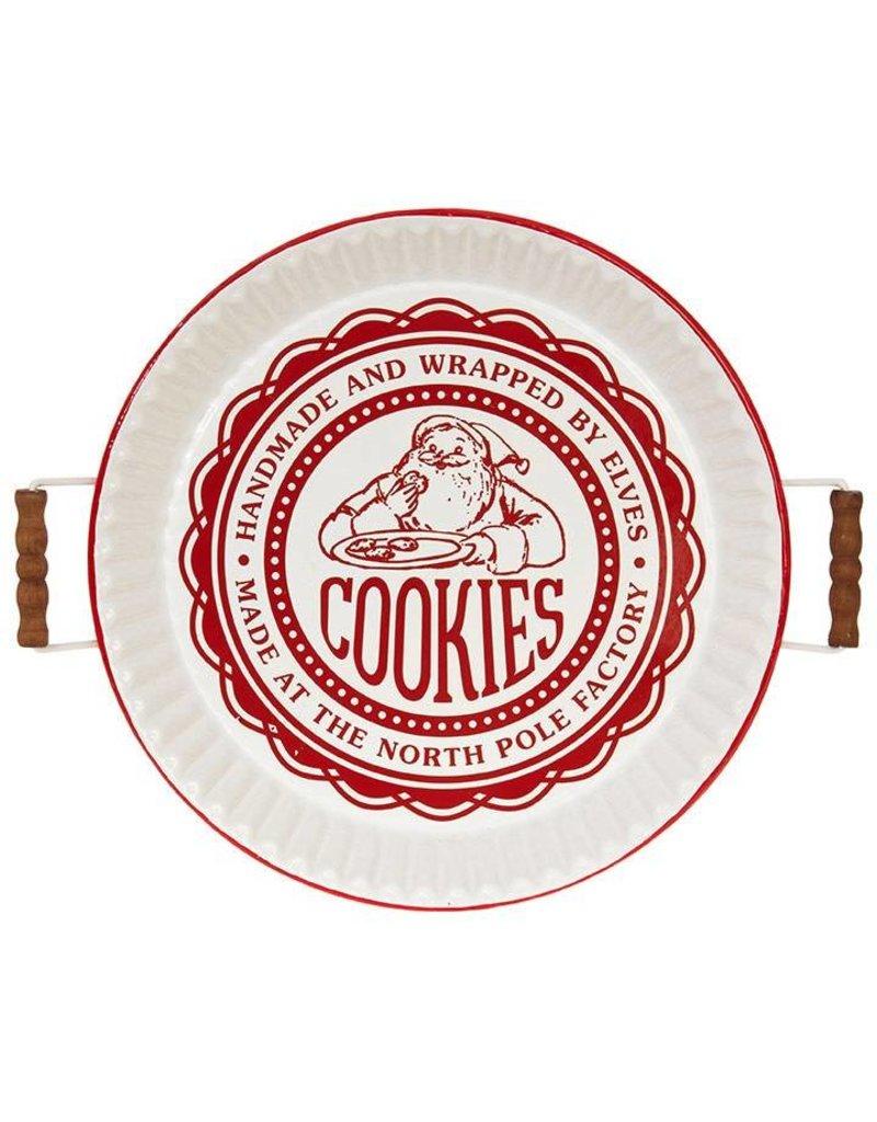 Raz Imports Santa Cookie Tray
