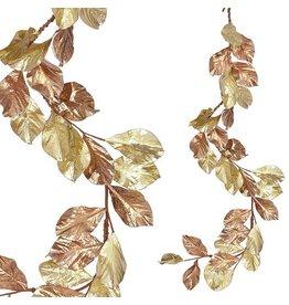 Raz Imports Magnolia Leaf Garland--5'