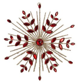 Raz Imports Jeweled Starburst Ornament