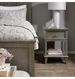 Yardley Classic Nightstand with Drawer and Lower Shelf