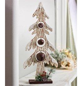 "Wood Christmas Tree w/Bells --22"""