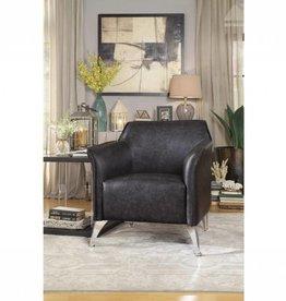 Homelegance Basseri Gray Accent Chair