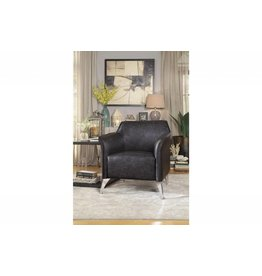 Homelegance Basseri Gray Accent Chair