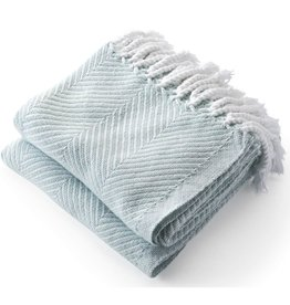 Throw - Surf Herringbone