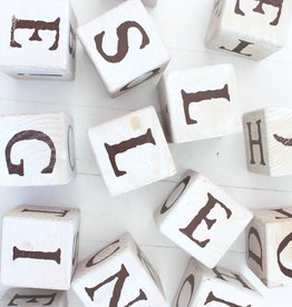 Wood Message Blocks